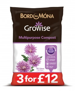 Growise Multi-purpose compost 3 for £12